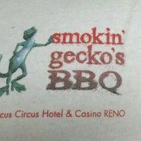 Photo taken at Smokin' Gecko's BBQ @ Circus Circus Reno by Javier M. on 9/21/2011