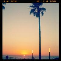 Photo taken at La Corniche de Casablanca by Khadija E. on 5/22/2012