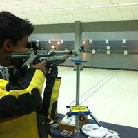 Photo taken at Perbakin Shooting Range by Tianpao A. on 3/17/2012