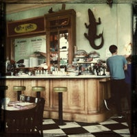 Photo taken at Cafe Gitane at The Jane Hotel by Asia J. on 6/17/2011