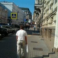 Photo taken at Улица Большая Дмитровка by Dmitry V. on 9/12/2012