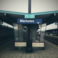Photo taken at Station Mechelen by D_YCON on 8/8/2012