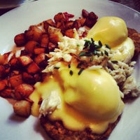Photo taken at Atchafalaya Restaurant by Ben C. on 3/31/2012