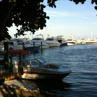 Photo taken at Monty's Fish and Stone Crab Restaurants by Heather on 8/29/2012