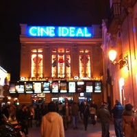 Photo taken at Yelmo Cines Ideal 3D by Ana-Maria F. on 11/5/2011
