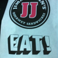 Photo taken at Jimmy John's by Kendra B. on 4/10/2011