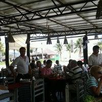 Photo taken at Chacrinha Restaurante & Pizza Bar by Juliana B. on 11/27/2011