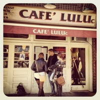 Photo taken at Cafe Luluc by Vanessa V. on 3/11/2012
