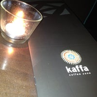 Photo taken at Kaffa Coffee Zone by Luís T. on 4/18/2012