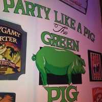 Photo taken at The Green Pig Pub by Annie on 8/5/2012
