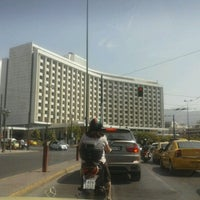 Photo taken at Hilton Athens by ΒΑΡΒΑΡΑ Δ. on 9/13/2012