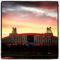 Photo taken at Walt Disney World Swan Hotel by Chris R. on 6/20/2012
