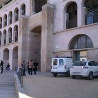 Photo taken at Facultat Lletres Universitat de Girona by Xevi S. on 3/8/2012