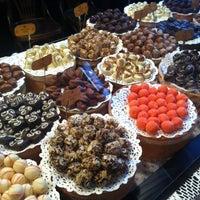Photo taken at Lviv Handmade Chocolate by Anna P. on 8/28/2012
