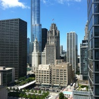 Photo taken at Embassy Suites by Hilton Chicago Downtown Magnificent Mile by Falon D. on 6/5/2012