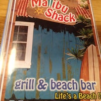 Photo taken at Malibu Shack Grill & Beach Bar by Tommy T. on 9/1/2012