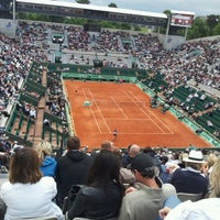 Photo taken at Court Suzanne Lenglen by Elian P. on 6/6/2012