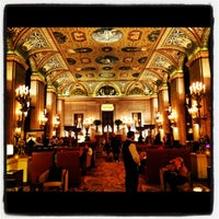 Photo taken at Palmer House - A Hilton Hotel by Jess B. on 4/7/2012