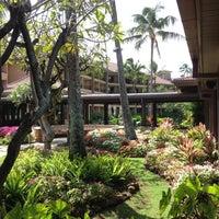 Photo taken at Sheraton Kauai Resort by Mike B. on 4/3/2012