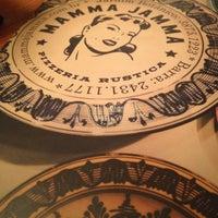 Photo taken at Mamma Jamma Pizzeria by Patricia S. on 6/9/2012