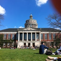 Photo taken at Eastman Quadrangle by Timothy M. on 3/21/2012