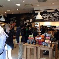 Photo taken at LUSH by Erik on 3/31/2012