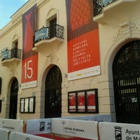 Photo taken at Cine Albéniz by Patricia C. on 4/21/2012