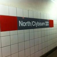 Photo taken at CTA - North/Clybourn by Jonny S. on 2/12/2011