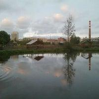 Photo taken at Пруд в ЦПКиО by Alex V. on 9/18/2011