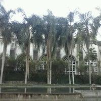 Photo taken at Parque Burle Marx by Daniel D. on 8/11/2012