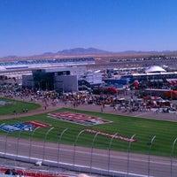Photo taken at Las Vegas Motor Speedway by Rich B. on 10/16/2011