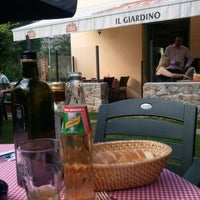 Photo taken at Ristorante il Giardino by -luc- on 8/17/2011