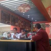 Photo taken at Juan Valdez Café by lorenzo d. on 9/23/2011