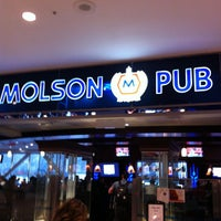 Photo taken at Molson Pub by Martin O. on 4/24/2012