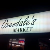 Photo taken at Oxendale's Market by ryan n. on 10/27/2011