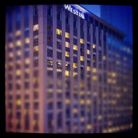 Photo taken at Westin Michigan Avenue by Peter H. on 11/23/2011