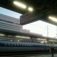 Photo taken at JR 姫路駅 11番ホーム by kenta k. on 9/7/2011