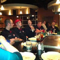 Photo taken at Hiro Japanese Steak House And Sushi Bar by Rick G. on 12/19/2011