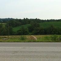 Photo taken at Hampton Inn Indiana by Nick M. on 7/31/2012