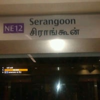 Photo taken at Serangoon MRT Interchange (NE12/CC13) by Sherwin L. on 1/4/2012