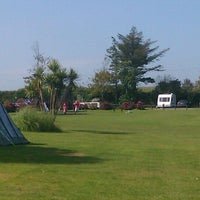 Photo taken at Veryan Camping and Caravanning Club Site by Elizabeth H. on 9/1/2011
