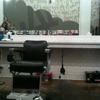 Photo taken at Rudy's Barbershop by Jason on 2/23/2012