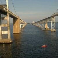 Photo taken at Chesapeake Bay by Charlene J. on 8/12/2012
