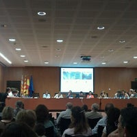 Photo taken at Ajuntament de Les Corts by Borja M. on 7/5/2012