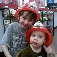 Photo taken at Firehouse Subs by Amanda T. on 4/30/2012