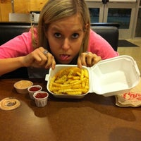 Photo taken at Raising Cane's Chicken Fingers by Kerry K. on 1/29/2012