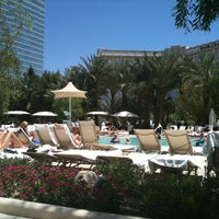 Photo taken at ARIA Pool & Cabanas by Yaniv L. on 5/28/2012