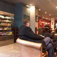 Photo taken at Caffè Nero by Lauren F. on 2/21/2011