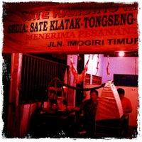 Photo taken at Sate Kambing Muda Pak Jupaini by Hardian W. on 7/18/2011