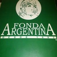 Photo taken at Fonda Argentina by Hugo A. E. on 1/26/2012